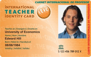 carteira mundial do professor
