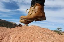 calçado viajante