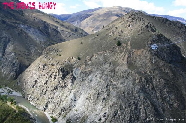 Bungee jump na Nova Zelândia