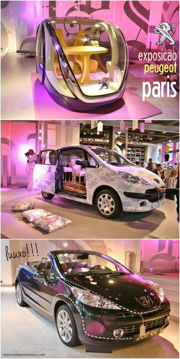 Exposição de Automóveis em Paris