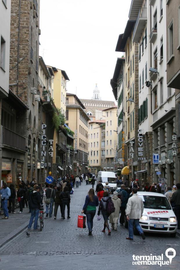 Cenas do dia a dia de Florença