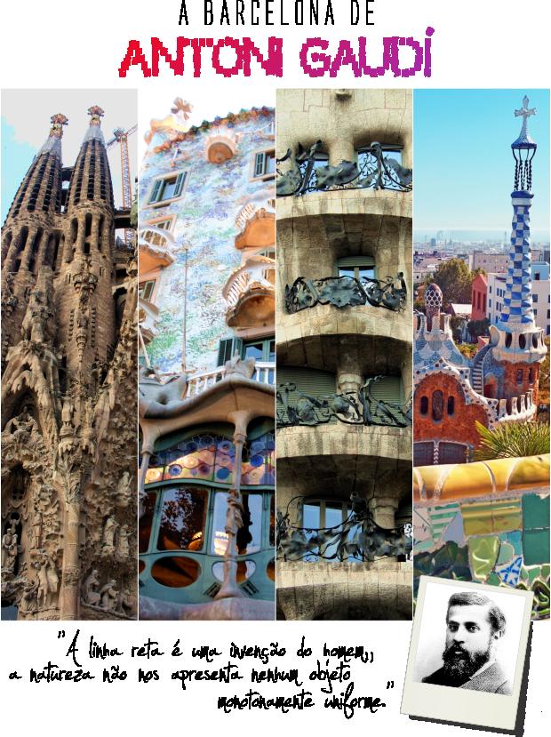 Barcelona Antoni Gaudí