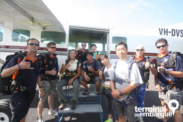 Salto Paraquedas Mission Beach AUS 1