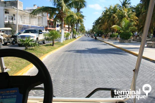 Carro de Golfe Isla Mujeres