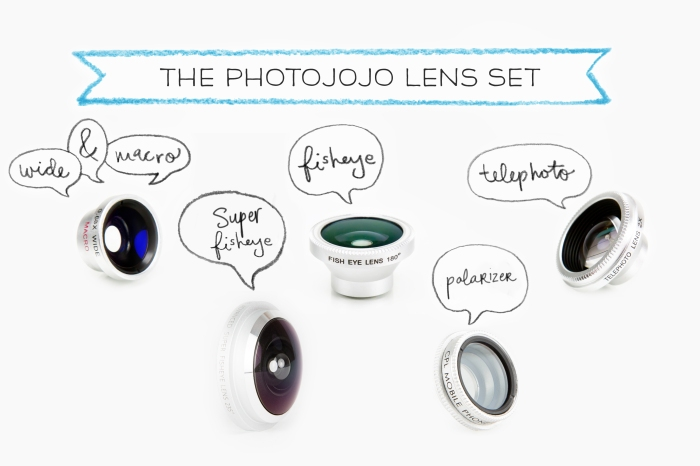 Kit Lentes Smartphone Photojojo