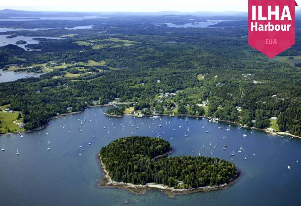 Ilhas em formato de coração