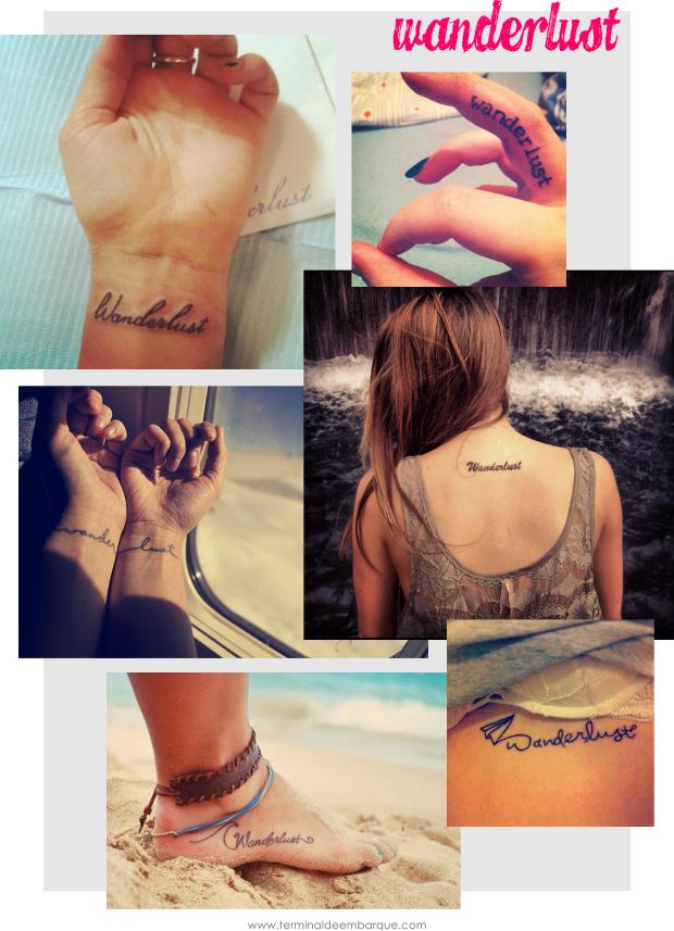 Inspirações de tatuagens de viagem