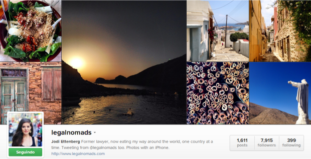 Viajantes para seguir no Instagram