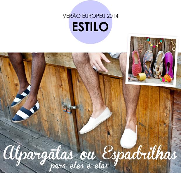 Verão Europeu 2014 estilo