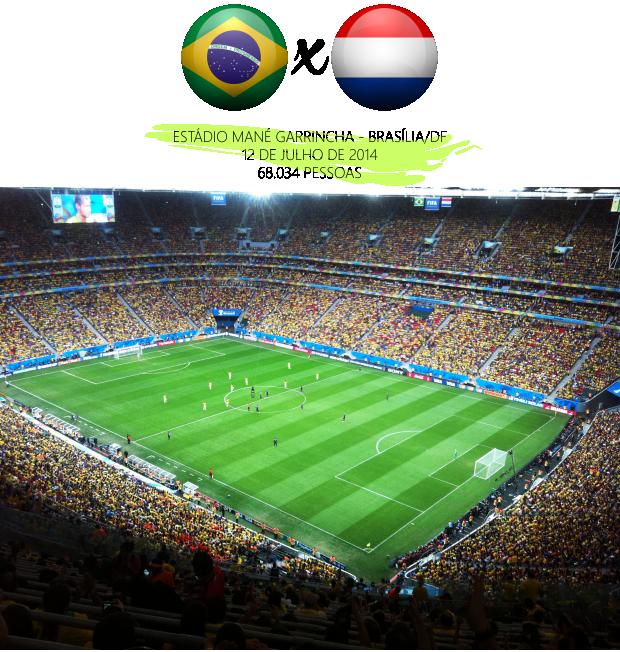 Copa do Mundo 2014 Brasil e Holanda
