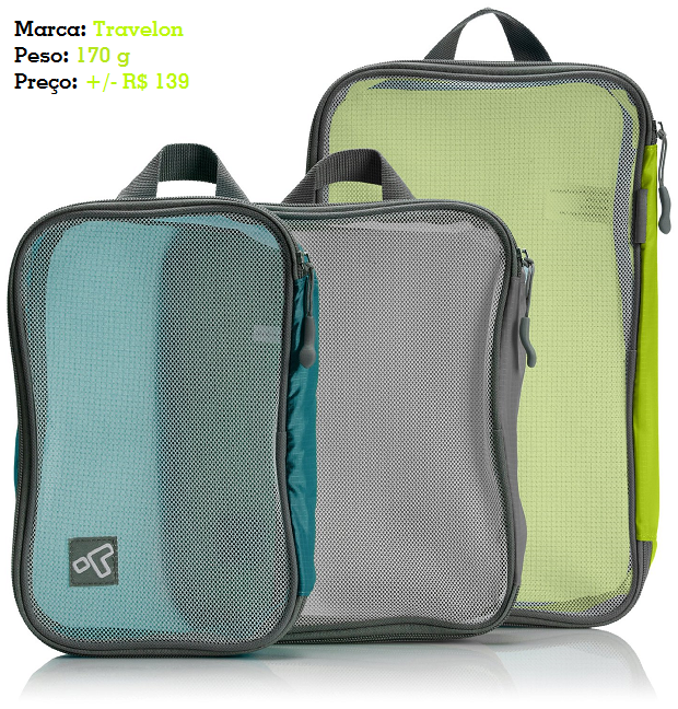 Cubos organizadores de bagagem Travelon