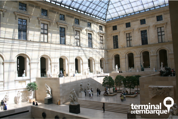 Visita ao Museu do Louvre