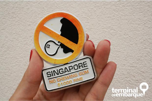 Chiclete proibido Cingapura