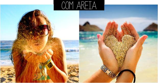 Ideias de fotos para tirar na praia areia