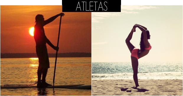 Ideias de fotos para tirar na praia atletas