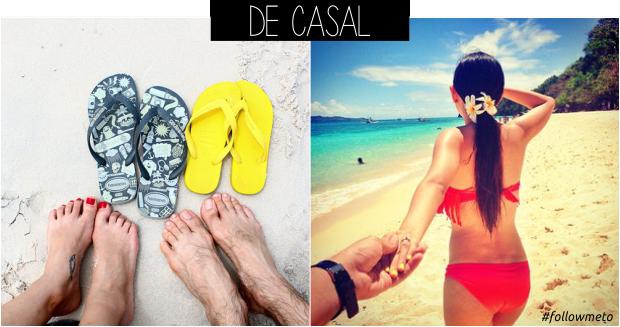 Ideias de fotos para tirar na praia casal
