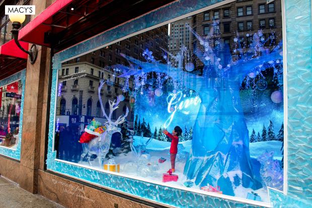 Vitrines de Natal Nova Iorque