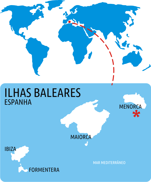 Mapa Ilhas Baleares