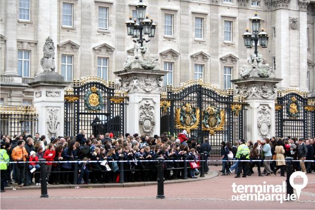 Troca da Guarda Palácio de Buckingham
