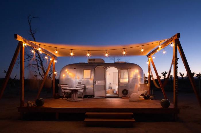 Airbnb Trailer Califórnia