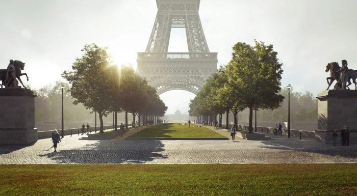 Torre Eiffel Jardim