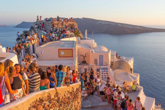 Destinos Alternativos Europa - Santorini