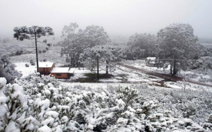Neve no Brasil - Cambará do Sul (Foto Trip Advisor)