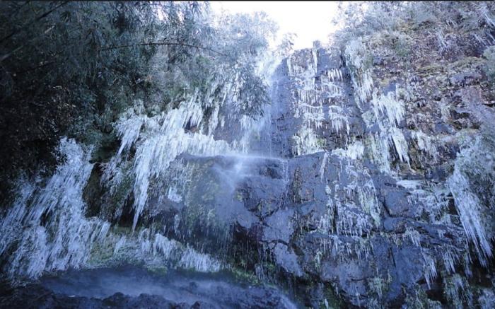 Neve no Brasil - Urupema (Foto Prefeitura Municipal de Urupema)
