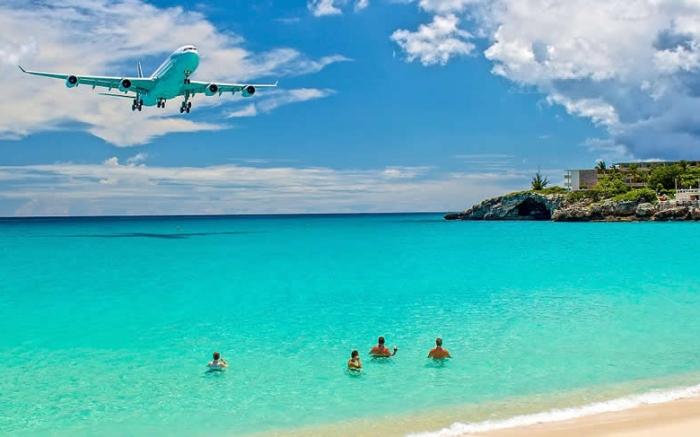 Voo Direto Brasil Caribe - St Maarten (Foto Internet)