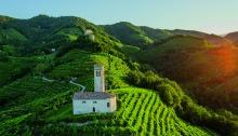 Patrimônio Mundial UNESCO - Le Colline del Prosecco di Conegliano a Valdobbiadene Itália - Foto Arcangelo Piai