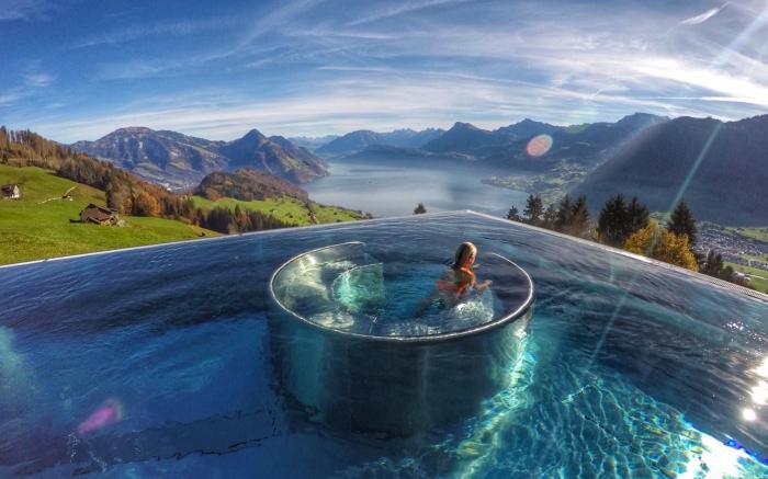 Piscinas Incríveis - Hotel Villa Honegg - Foto Lala Rebelo