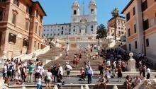 Escadaria Praça de Espanha Roma