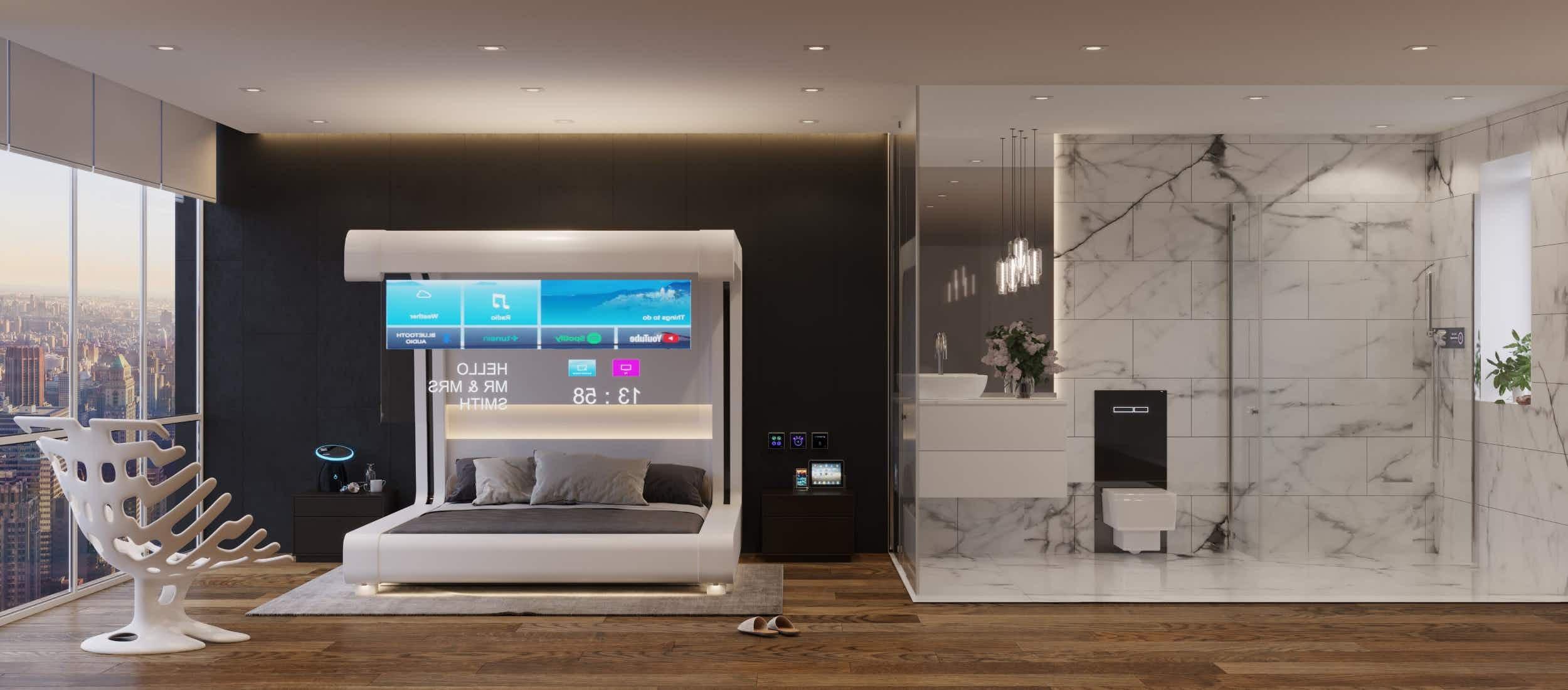 Quarto Hotel Futuro