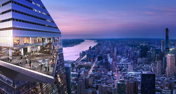 Nova York Deck Observação Edge